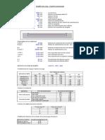 Diseño de Puente Excel