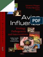 Avian Influenza Etiology, Pathogenesis and Interventions