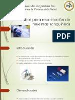 Tubos Para La Recolección de Muestras Sanguíneas(1)