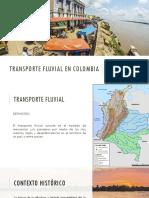 Transporte Fluvial en Colombia