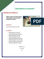Límite Líquido y Límite Plástico -Suelos Imprimir
