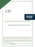 Paraguay - UNESCO - Revisión EPT 2015