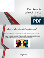 Psicoterapia psicodinámica