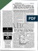 Bolivi Apide Una Salida a l Masr a Chile
