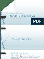 Huawei 3G - CSSR CS Fast Analyze