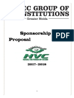 37421295 Sponsorship Proposal