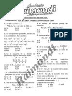 2do Examen  - PRIMERA OPORTUNIDAD Cepru - 2011 -.pdf