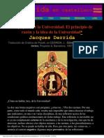 Jacques Derrida - Las Pupilas De La Universidad.pdf