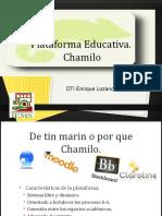 Presenta Chamilo Dic 2015