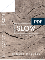 Slow by Brooke McAlary (Extract)