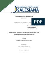 Ejemplo Modelo de Inventarios
