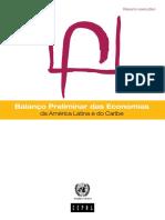 CEPAL (2015) Balane Preliminar Das Eco Da AL e Do Caribe