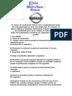 Programacion de Cuerpos de Aceleracion-full Motores Check