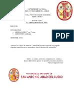 Metalurgia en El Peru 1