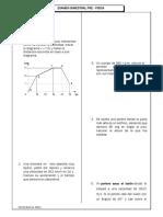 Examen Bimestral de Fisica Preuniversitario