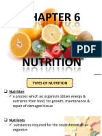 6.1 & 6.2 - Types of Nutrition; Balanced Diet