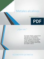 Metales alcalinos 2