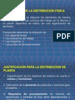Distribución en PlantaLGN