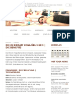 Bikram Yoga26 Positione