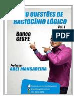#500 Questões de Raciocínio Lógico - Vol.1 - Banca CESPE - Prof. Abel Mangabeira (Com Gabarito).pdf