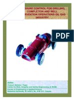 Pressure Control for Drilling, Completion and Well Intervention Operations Oil Gas Industry