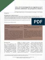 El Rol de La Ingeniería y de La Investigación en Ingeniería en El Proceso de Licenciamento Ambiental