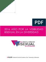 2016 Año Por La Visibilidad Bisexual en La Diversidad (FELGTB)