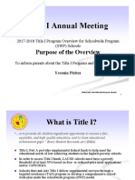 2017-2018 SWP Title I Overview Eng