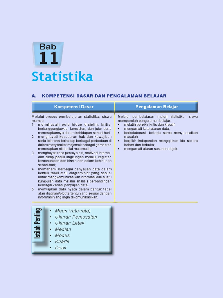 Materi Statistika Sma Pdf