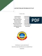 Tugas I - Kelompok I - Media Komunikasi Pembangunan (1)