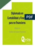 1. Análisis de los Estados Financieros