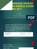 Memakai Apl Bkd 5mei 2017