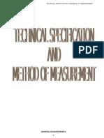 Tech Spec Method of Measurement[1]