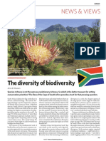 The Diversity of Biodiversity