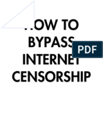 how to bypass internet censorship