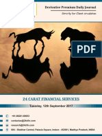 Derivatives 12th September 2017, Tuesday