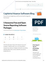 5 Awesome Free and Open Source Reporting Software Packages - Capterra Blog