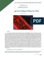 Artículo Epidemiología de La Diabetes en El Perú