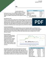 Research Report - Monero (XMR) 2017-09-12