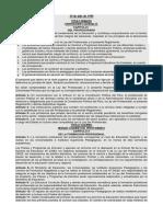 Reglamento de La Ley Del Profesorado