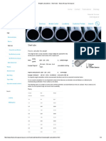 Weight Calculations - Steel Tube - Thyssenkrupp Aerospace