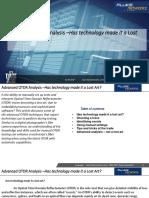Advanced OTDR Analysis