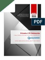 Private LTE Networks
