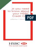 Credit Card Terms