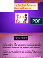 Conflict Between Nurse and Client