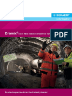 Dramix for Tunnel Works