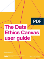 ODI the Data Ethics Canvas User Guide 2017-09-13