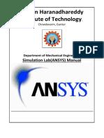 ANSYS Final Manual