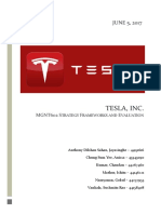 Tesla Group Report