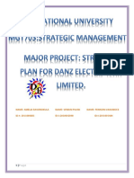Mgt 703 Major Project Final